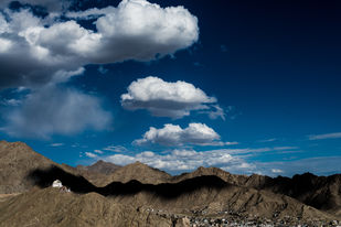 umbrella cloud by Shahid Hussain, Digital Photography, Inkjet Print on Archival Paper, Gray color