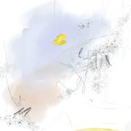 ~ The Grey Story-Abstract 3 by Suvarna Dheringe, Digital Digital Art, Digital Print on Canvas, Athens Gray color