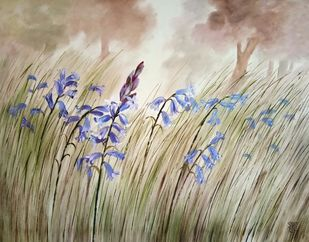 Wild beauty by Swati Kale, Illustration Painting, Oil on Canvas, Napa color