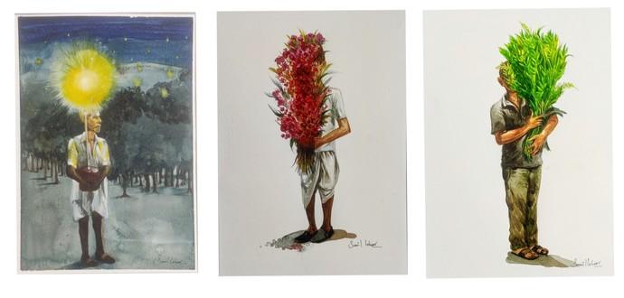 The Son of Man Digital Print by Sunil Lohar,Conceptual