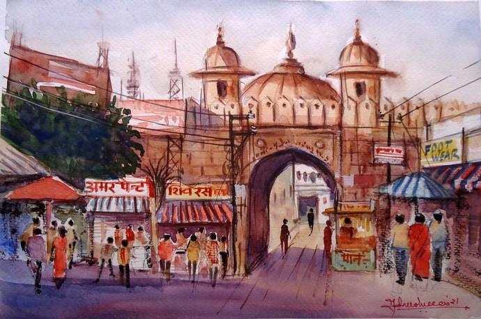 Market Beauty By Ram Kumar Maheshwari