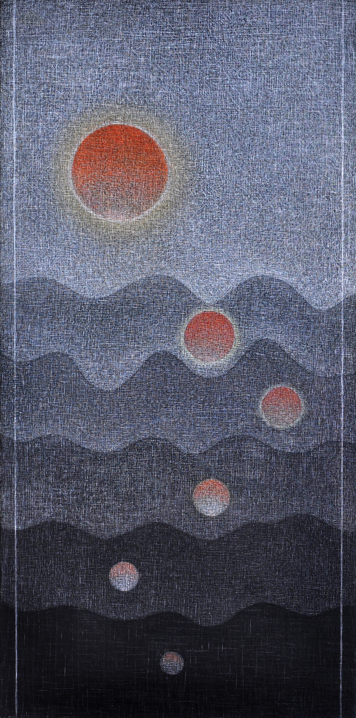 Udita Digital Print by Hanumantha Rao Devulapalli,Geometrical