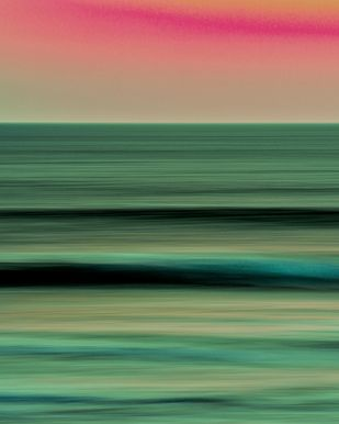 Seascape No. 3 by M. Shafiq, Digital, Image Photography, Digital Print on Archival Paper, Gray color