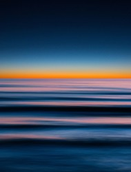 Seascape No. 9 by M. Shafiq, Digital Photography, Digital Print on Archival Paper, Gray color