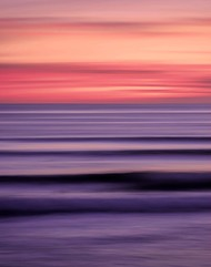 Seascape No. 12 by M. Shafiq, Digital Photography, Digital Print on Archival Paper, Gray color