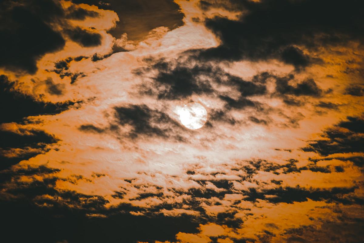 Sunrise by Arif Amin, Digital Photography, Digital Print on Paper, Black color