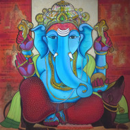 Untitled by Pramod Reddy Gade, Illustration Painting, Acrylic on Canvas, Gray color