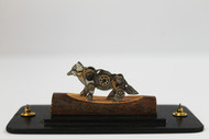 Steampunk Wolf by Nikhil Dayanand, Art Deco Sculpture | 3D, Metal, Silver color