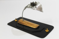 Steampunk Beetle 2 by Nikhil Dayanand, Art Deco Sculpture | 3D, Metal, Silver color