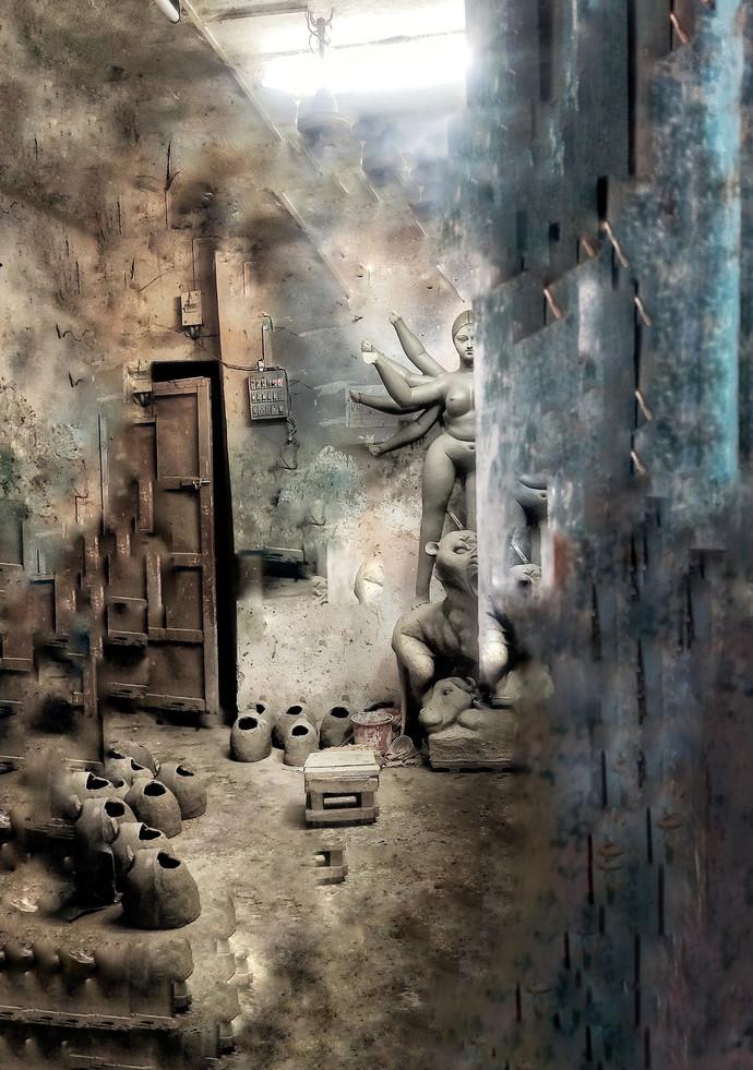 Endless(ontoheen) by ARKA's CREATION, Digital Digital Art, Digital Print on Paper, Gray color