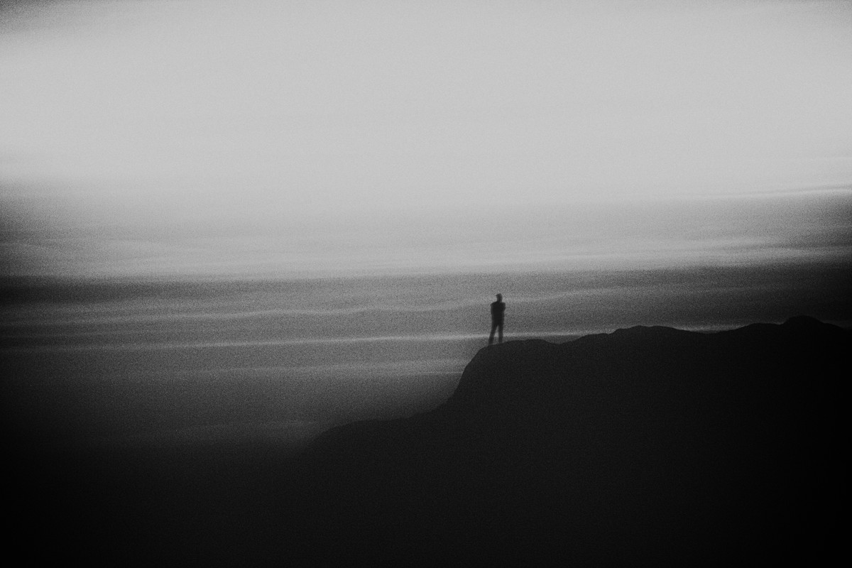 Alone by Arka, Digital Photography, Digital Print on Archival Paper, Silver color