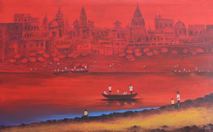 Banaras 3 By Atul Virkar
