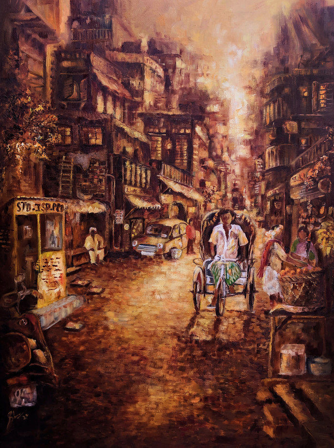 Dusky Dawn Ii By Afshana Sharmeen