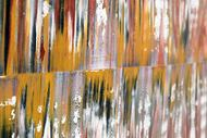Ubium by Sumit Mehndiratta, Abstract Painting, Oil on Canvas, Brown color