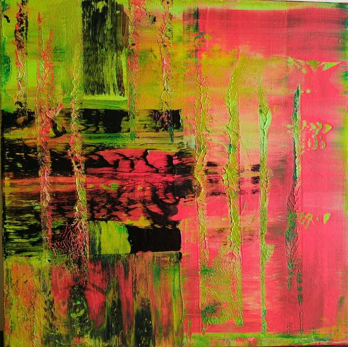 absracto set by Sweety Gupta , Abstract Painting, Acrylic on Canvas, Brown color
